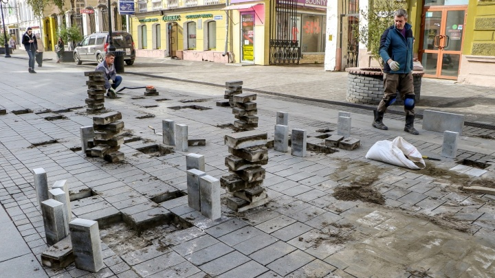 Чиновники ответили на претензии по бесконечному ремонту Большой Покровской