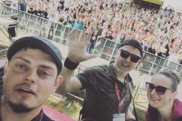 Новосибирские музыканты выступили на одной сцене с известными исполнителями