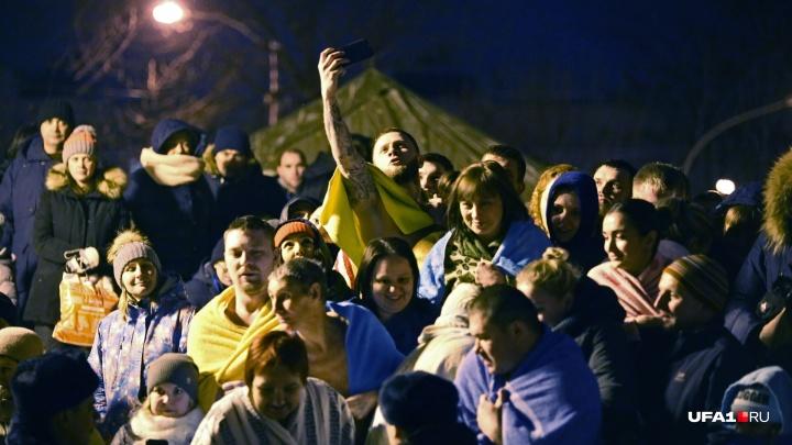 «Ай, хорошо!»: жители Уфы поделились в соцсетях впечатлениями от крещенских купаний