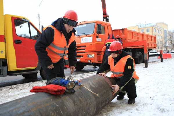 Сотрудники Красноярской теплотранспортной компании группы СГК присоединились кмасштабной тренировке поликвидации возможных повреждений тепловых сетей