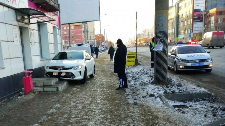 Водителя, сбившего женщину на тротуаре, оштрафовали на пять тысяч