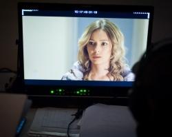 Евгения Лоза, исполнительница роли Татьяны в сериале «Восток-Запад». Премьера на «Dомашнем» по будням в 21:00