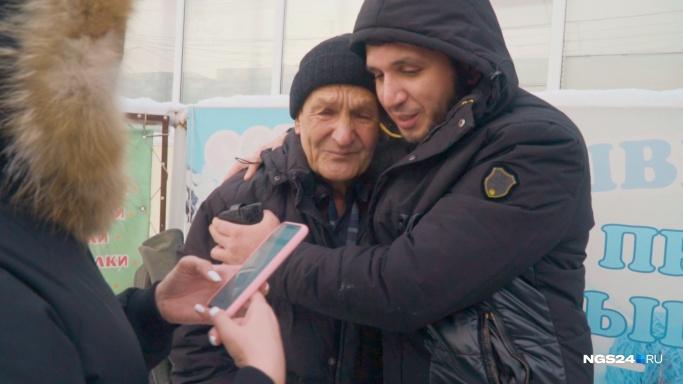 Неравнодушные красноярцы собрали больше миллиона рублей просящему милостыню пенсионеру