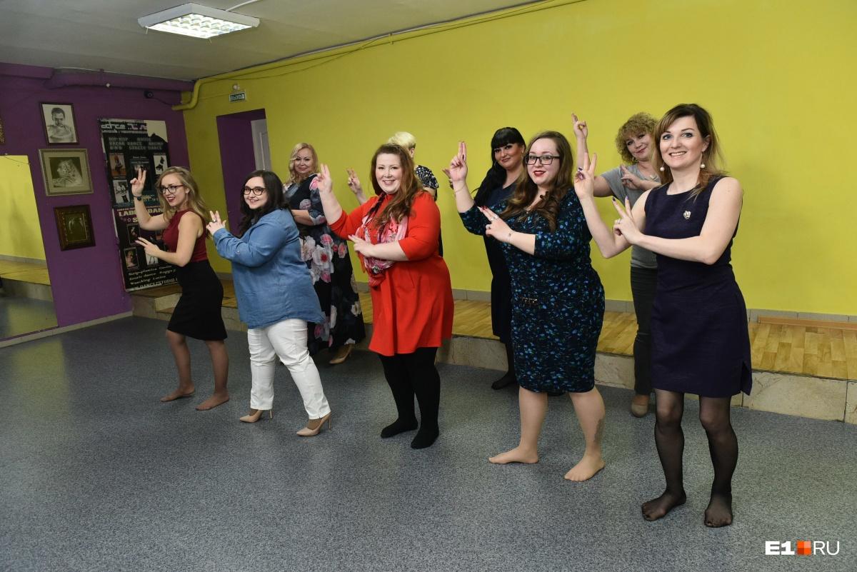 На отборе претендентки на участие в конкурсе успели потанцевать