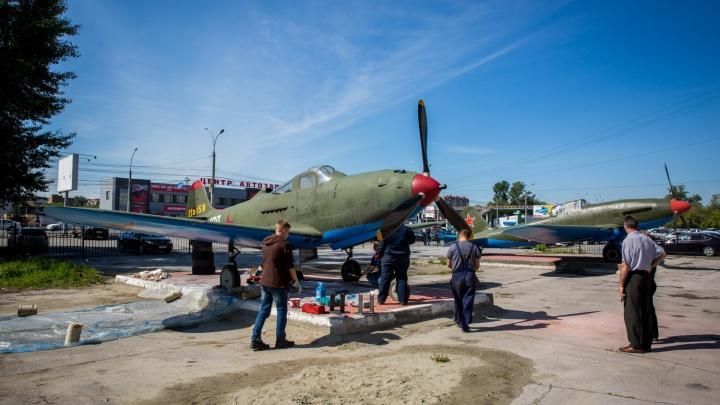 В Ленинском районе появилась любимая советским героем «Аэрокобра»