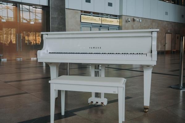 На этот рояле сможет сыграть любой желающий