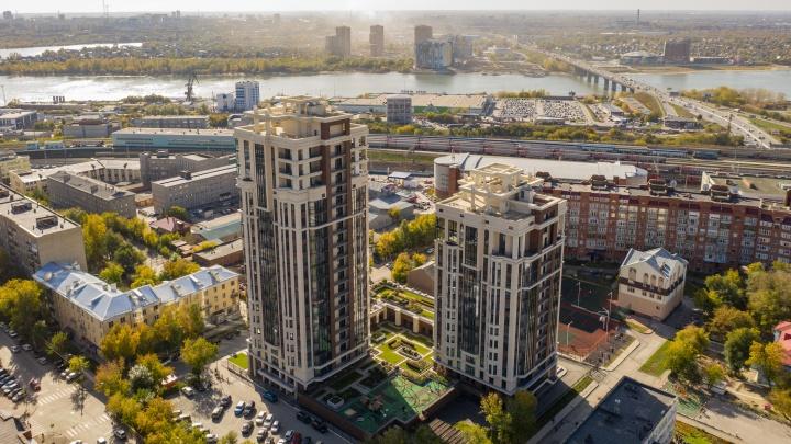 В престижной резиденции высокого класса появилось в продаже пять квартир