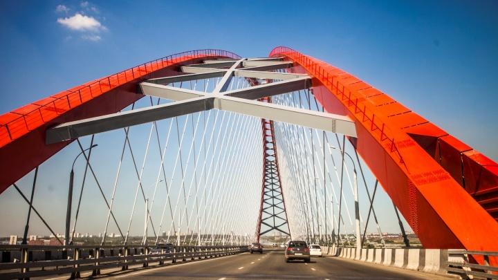 Бугринскому мосту — пять лет.10 фото, как строили самый красивый (и скандальный) мост Новосибирска