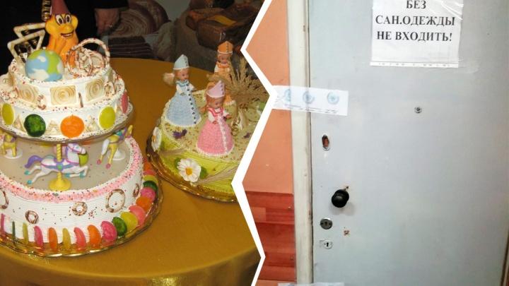 В Самаре приставы закрыли кондитерскую из-за обшарпанных стен