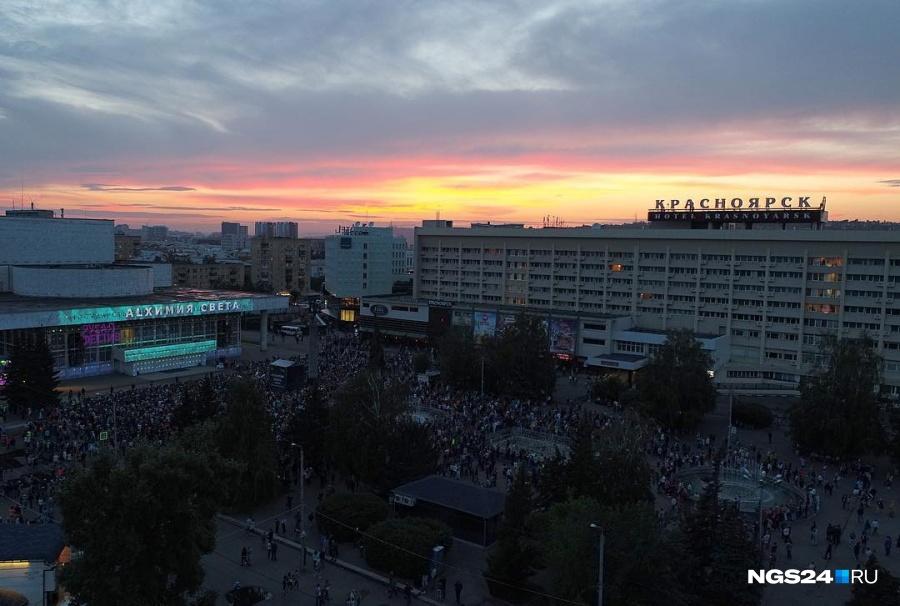 ВКрасноярске пройдет масштабное световое шоу