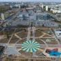 На месте летной базы Качинского училища ставят солнечные часы с «бумажным» самолетиком