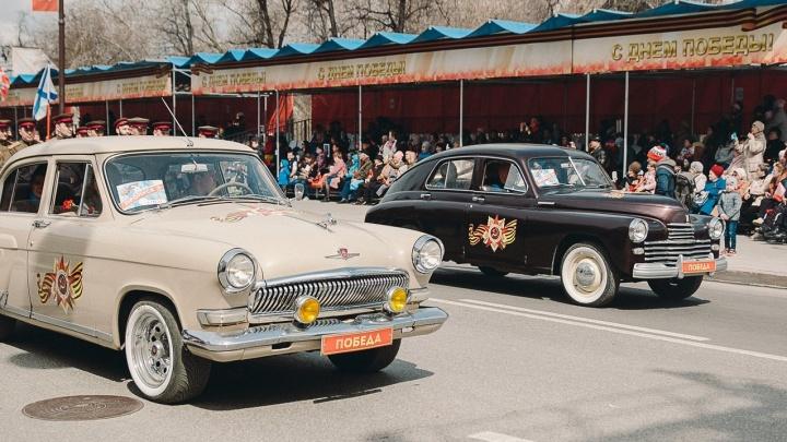 Удивительная экспозиция: 9 мая тюменцы покажут стилизованные под военную технику автомобили