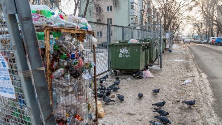 В Самарской области за вывоз мусора платят только 74% жителей