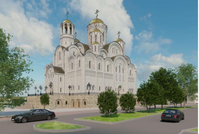 Собор в новом облике официально представят губернатору