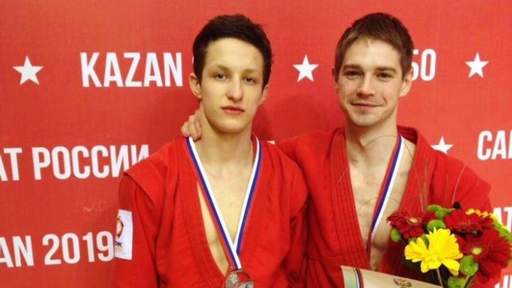 Свердловские самбисты завоевали серебро и бронзу на чемпионате России в Казани