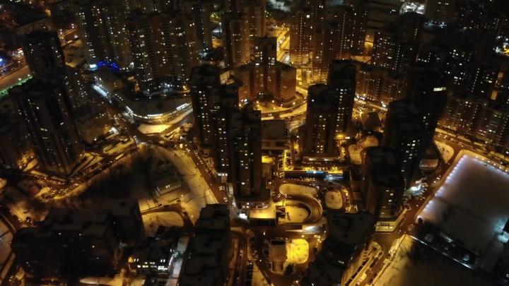 «Похоже на Дубай»: любуемся на Пятую просеку с высоты птичьего полета