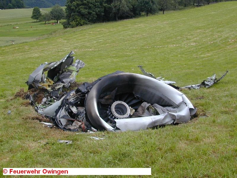Фрагменты самолетов собирали в радиусе 30 км