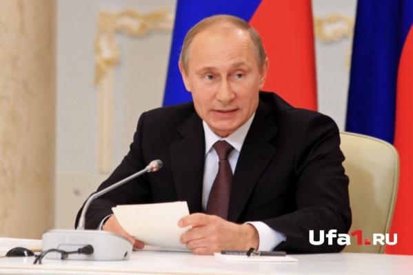 Владимир Путин подпишет приказ сегодня