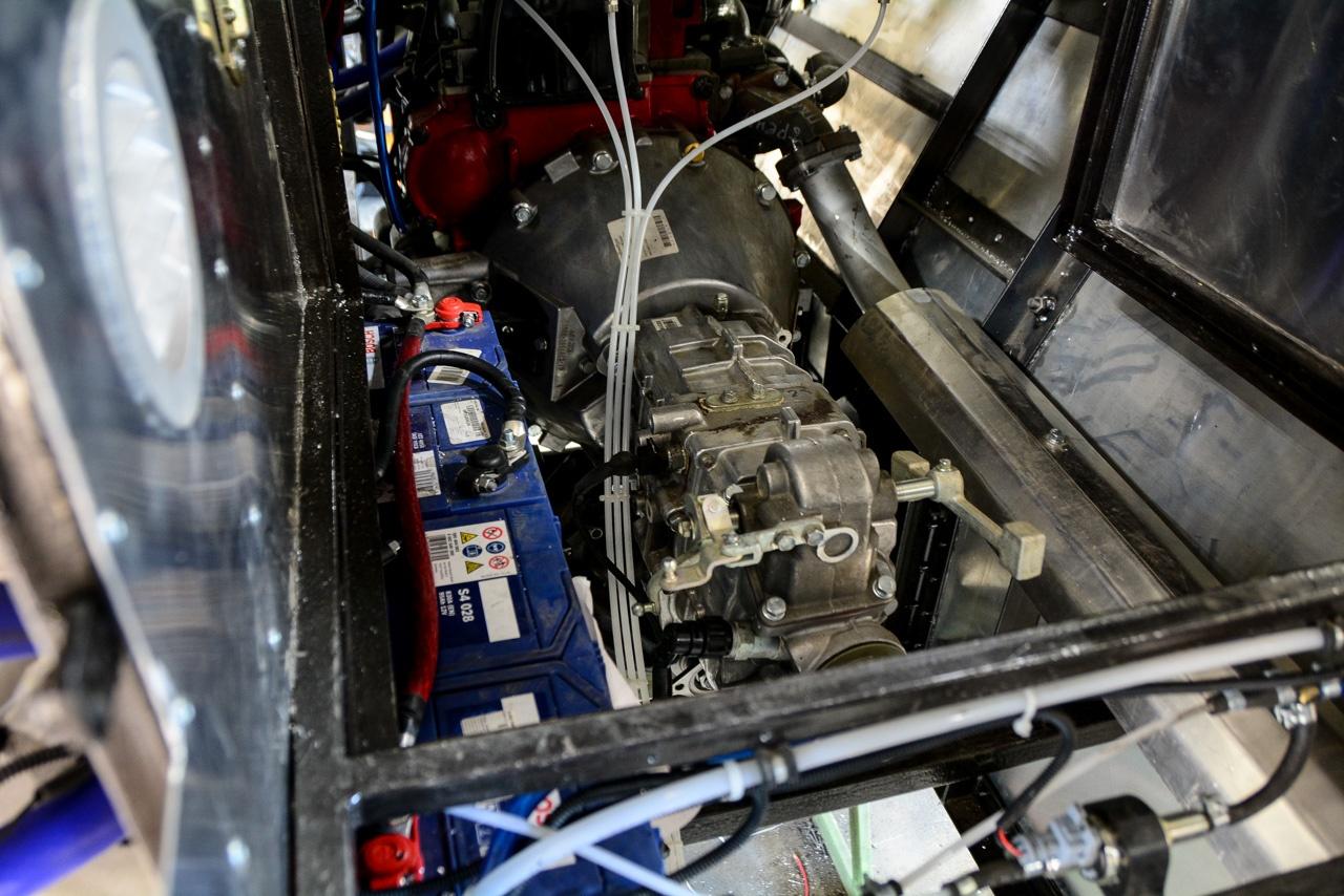 Коробка передач — пятиступенчатая механика от «Газели», которой «привычно» работать с таким мотором