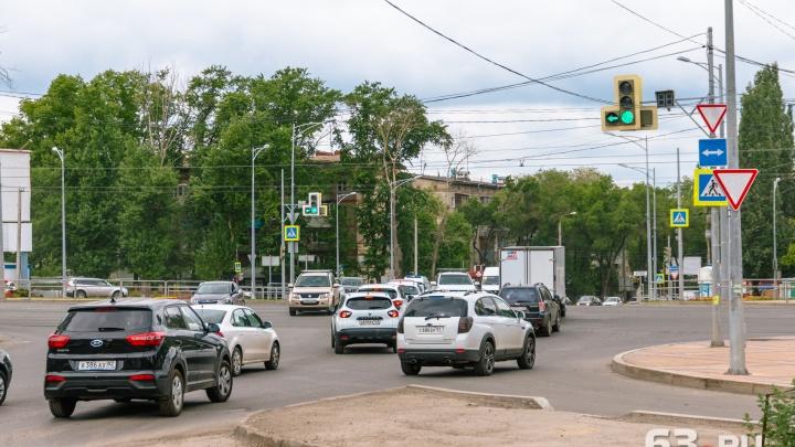 В Самаре закроют для движения участок на Революционной — Московское шоссе