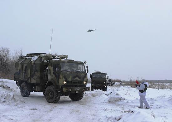 В проверке также участвуют 500 единиц военной техники