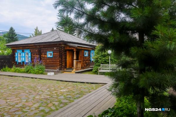 Музей писателя Виктора Астафьева в поселке Овсянка