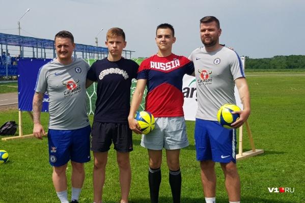 Визита тренеров «Челси» в Волгоградской области ждали с большим нетерпением