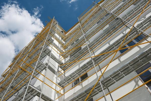 Ремонт фасада позволит сэкономить на отоплении