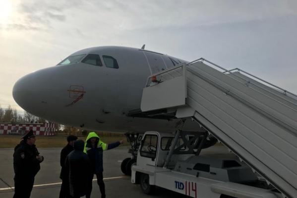 Инцидент произошёл в челябинском аэропорту утром 3 октября