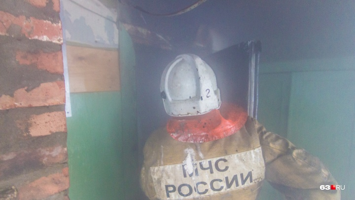В самарском ТЦ «Триумф» произошел пожар