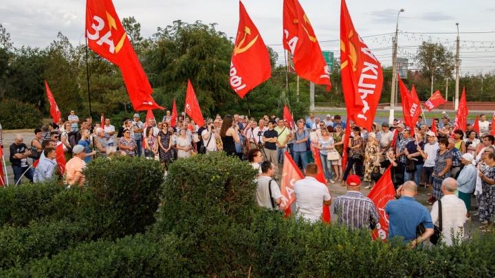 «Где-то мы не дорабатываем»: В Волгоградской области прошли митинги против пенсионной реформы