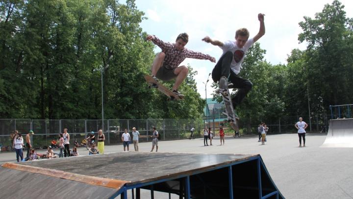 Спорт на колесах: рассказываем, где в Уфе покататься на скейтборде и роликах