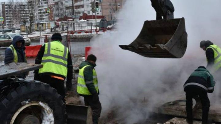 Власти рассказали, когда вернется тепло в квартиры ярославцев после большой аварии