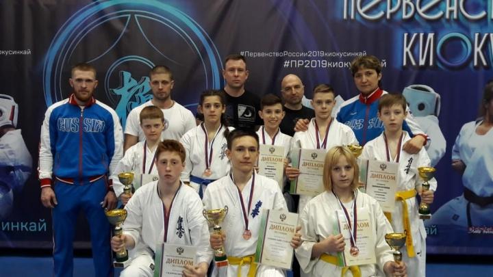 Юные уральские каратисты завоевали семь медалей на первенстве России в Москве