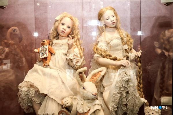 Куклы в галерее «Хрупкие мечты» — как живые