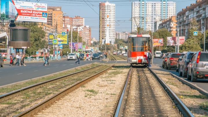 Засаленные рельсы: в самарском ТТУ пожаловались на нехватку денег для ремонта трамваев