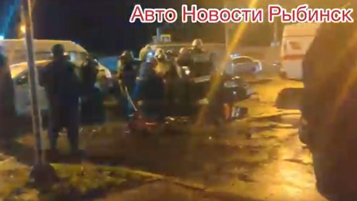 Удар в самое слабое место авто: появилось видео с места смертельного ДТП в Рыбинске