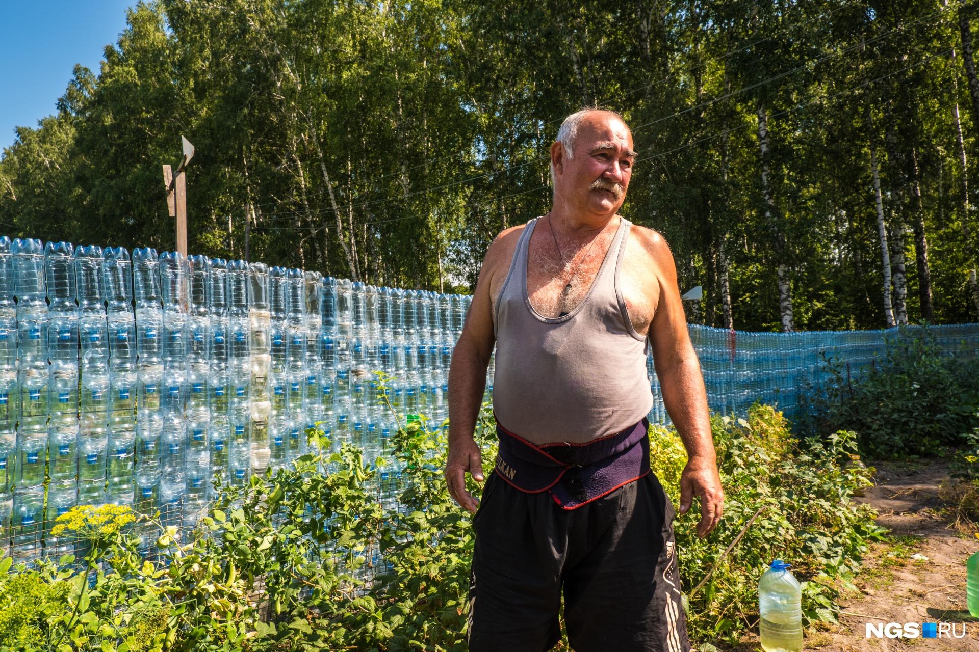 На строительстве заборов Геннадий Иванович не одну бутылку выпил