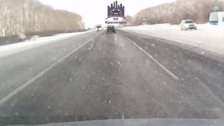 В резко повернувшей «Газели» на трассе погиб пассажир