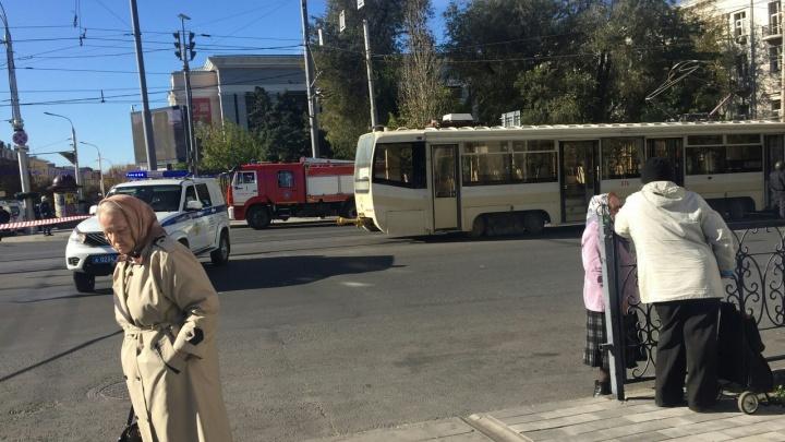 Буденновский проспект перекрыли из-за опасности взрыва