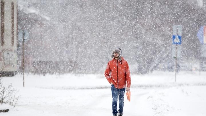 На Ярославль обрушится затяжной снегопад