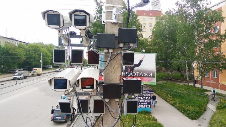 В Омске установили 12 комплексов контроля движения машин