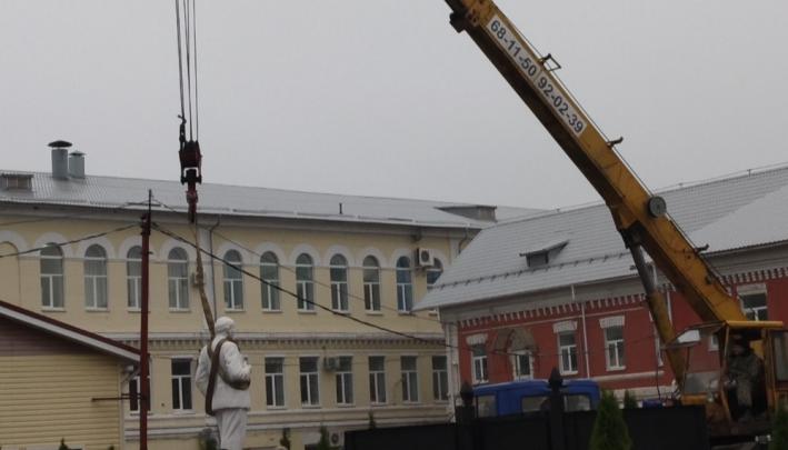 Снос памятника Владимиру Ленину взбудоражил ярославцев