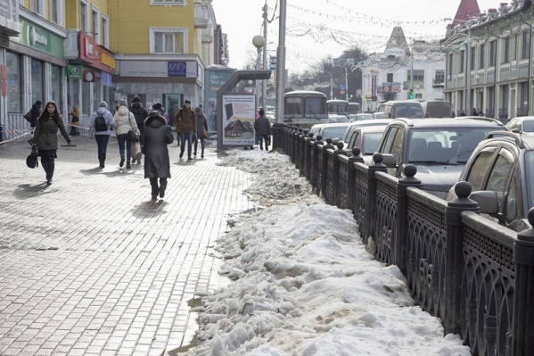 В отдельных районах пройдет небольшой снег