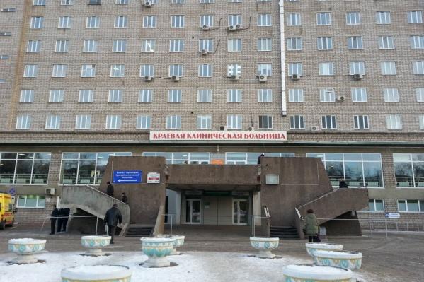 Сложную операцию на лице провела хирург Краевой клинической больницы Ольга Бобкова