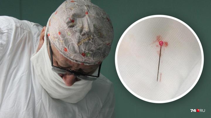 Не до острот: юному челябинцу удалили из лёгкого иголку, с которой он прожил пять лет