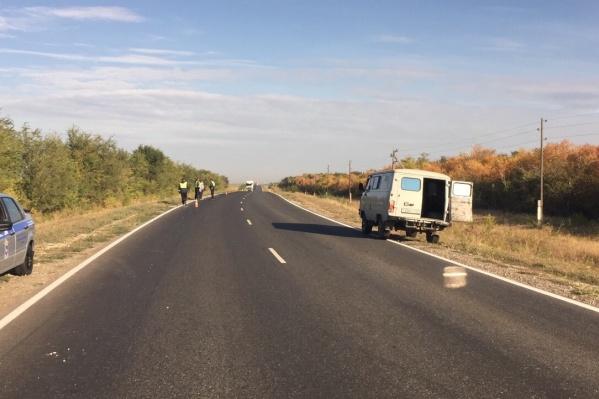 ДТП произошло на трассе «Самара — Большая Черниговка»