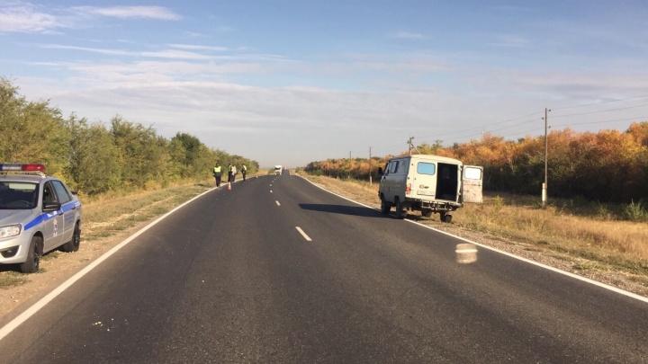 Улетел в кювет: в Самарской области пассажир «Хендай» погиб после ДТП с «Приорой» и «Митсубиси»
