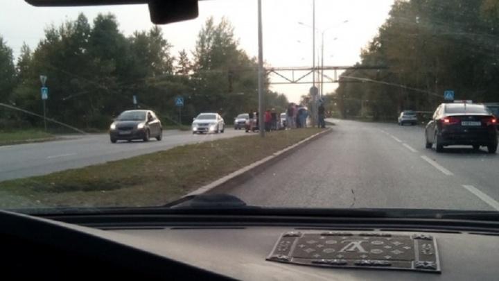 На Лесобазе на пешеходном переходе сбили девочку