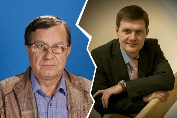 За Евгения Пяткевича (слева) родители и преподаватели подписывают петиции. Они не понимают, почему назначают именно Алексея Подкорытова (справа), который провёл в Америке 17 лет